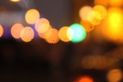 Lanterna de Blured Imagens de Stock