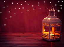Lanterna de brilho fotografia de stock