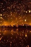 Lanterna de flutuação Fotografia de Stock Royalty Free