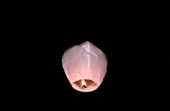 Lanterna de Kongming Foto de Stock