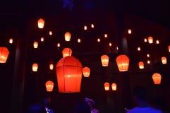 A lanterna de Kongming na porcelana imagem de stock royalty free
