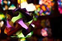 Lanterna de papel Fotografia de Stock Royalty Free