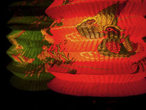 Lanterna de papel Fotografia de Stock