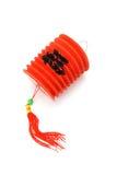 Lanterna de papel vermelha chinesa Fotografia de Stock