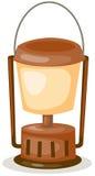Lanterna de querosene ilustração stock