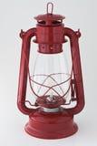 Lanterna de querosene vermelha Imagem de Stock Royalty Free