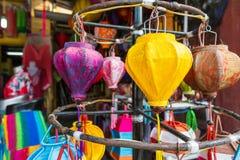 Lanterna de seda Imagens de Stock Royalty Free