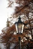 Lanterna de vidro velha foto de stock royalty free