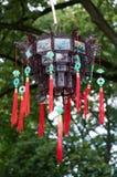 Lanterna decorata nello stile cinese Fotografia Stock Libera da Diritti