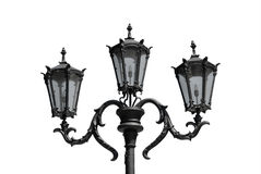Lanterna decorativa della via Fotografia Stock Libera da Diritti