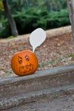 Lanterna del âO di Halloween Jack Fotografia Stock