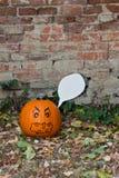 Lanterna del âO di Halloween Jack Immagini Stock Libere da Diritti