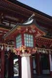 Lanterna del cancello di fronte Fotografia Stock Libera da Diritti