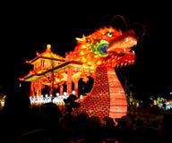 Lanterna del drago Fotografia Stock Libera da Diritti