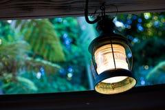 Lanterna dell'annata immagine stock
