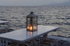 Lanterna della candela fotografia stock