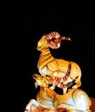 Lanterna della capra nella celebrazione lunare 2015 del nuovo anno Immagini Stock