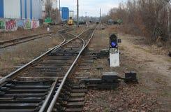 Lanterna della ferrovia Fotografie Stock Libere da Diritti