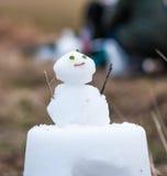 Lanterna della neve in Miyama, Kyoto, Giappone Immagine Stock