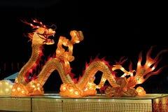 Lanterna della seta del serpente Fotografie Stock Libere da Diritti