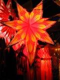 Lanterna della stella Fotografia Stock