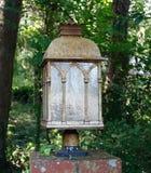 Lanterna della strada privata opaca Fotografia Stock