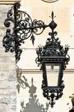 Lanterna della via, castello di Peles, Sinaia, Romania Fotografie Stock Libere da Diritti