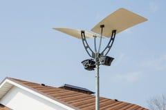 lanterna della via con una progettazione moderna Fotografia Stock Libera da Diritti