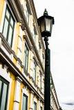 Lanterna della via della città Immagine Stock