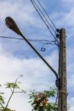 Lanterna della via della città Immagine Stock Libera da Diritti