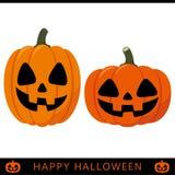 Lanterna della zucca di Halloween illustrazione di stock