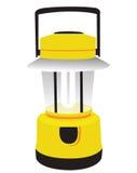 Lanterna di campeggio gialla Immagine Stock