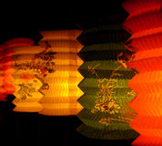 Lanterna di carta Fotografie Stock