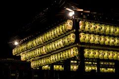 Lanterna di carta Immagine Stock