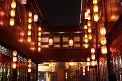 Lanterna di carta cinese fotografie stock
