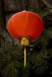 Lanterna di carta cinese rossa Immagini Stock Libere da Diritti