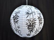Lanterna di carta giapponese Fotografie Stock