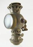 Lanterna di cherosene dell'oggetto d'antiquariato Fotografia Stock