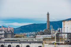 Lanterna di Genova Royalty Free Stock Photo