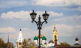 Lanterna di Kolomna fotografia stock