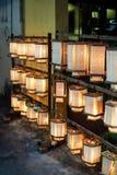 Lanterna di legno cinese Fotografia Stock Libera da Diritti