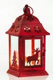 Lanterna di Natale Immagini Stock