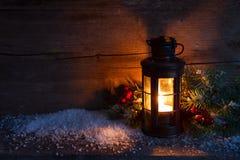 Lanterna di Natale fotografia stock