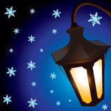 Lanterna di natale Fotografie Stock Libere da Diritti