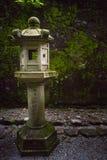 Lanterna di pietra Fotografia Stock