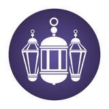 Lanterna di Ramadan Kareem illustrazione vettoriale