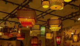 Lanterna di stile cinese Immagine Stock Libera da Diritti