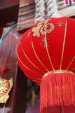 Lanterna di stile cinese nel mercato di galleggiamento Tailandia immagini stock