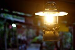 Lanterna di tempesta che llighting Fotografie Stock Libere da Diritti