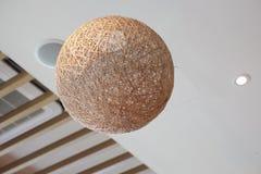 Plafoniere Vimini : Lampada di vimini sul soffitto stock images photos